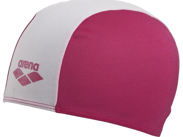 arena Polyester Jr Swin Caps strawberry-white